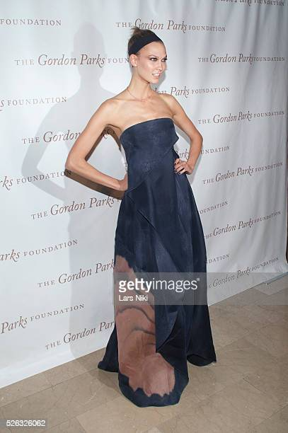 Karlie Kloss attends the Gordon Parks Foundation Awards Dinner at the Plaza Hotel in New York City �� LAN