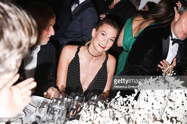 Karlie Kloss attends the Guggenheim International Gala at the Solomon R Guggenheim Museum on November 17 2016 in New York City