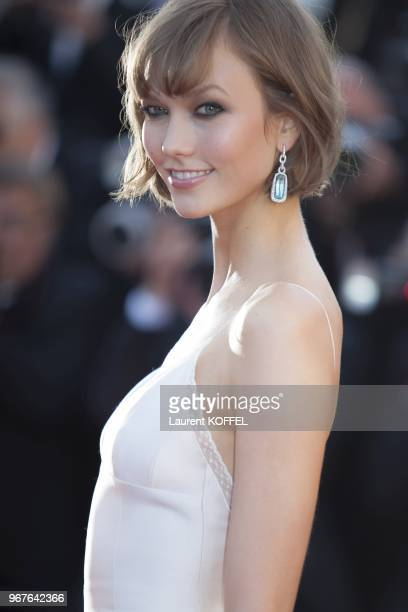 Karlie Kloss attends 'The Immigrant' Premiere during the 66th Annual Cannes Film Festival at Palais des Festivals on May 24 2013 in Cannes France