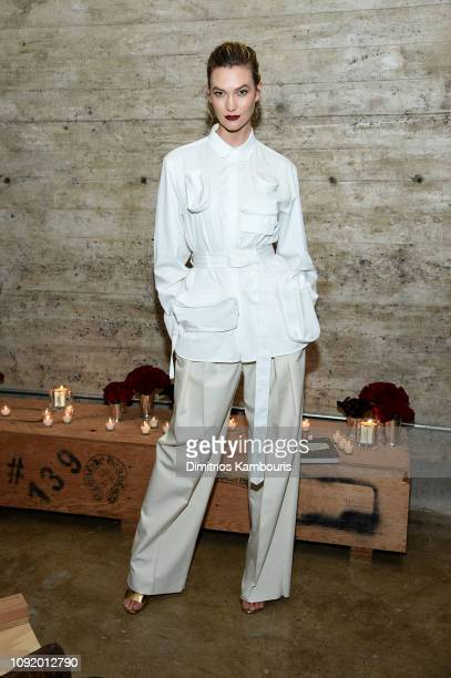 Karlie Kloss attends the Louis Vuitton Dinner Mens SS19 Temporary Residency on January 09 2019 in New York City