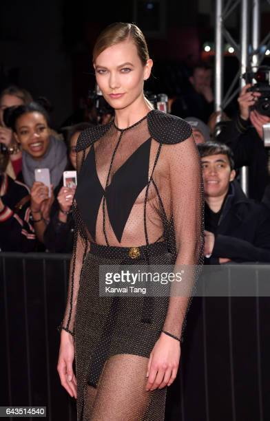 Karlie Kloss attends The Naked Heart Foundation's London's Fabulous Fund Fair at The Roundhouse on February 21 2017 in London United Kingdom