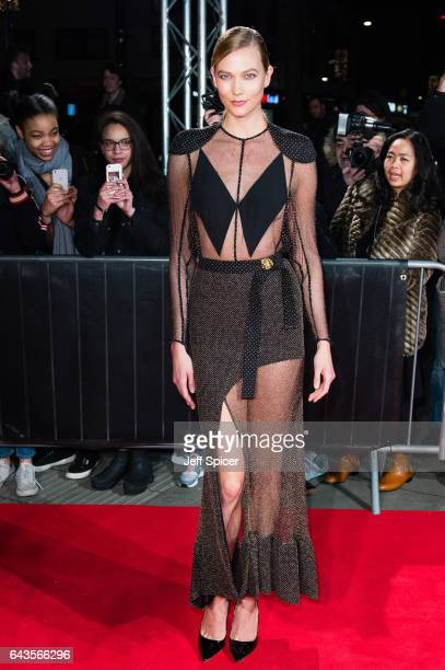 Karlie Kloss attends The Naked Heart Foundation's London's Fabulous Fund Fair on February 21 2017 in London United Kingdom