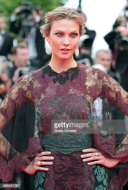 Karlie Kloss attends the Opening ceremony and the 'Grace of Monaco' Premiere during the 67th Annual Cannes Film Festival on May 14 2014 in Cannes...