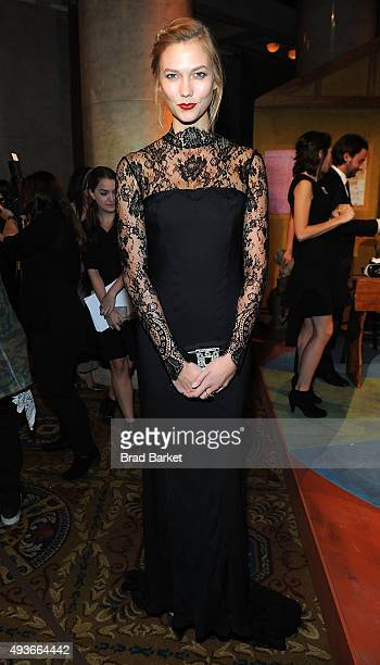 Karlie Kloss attends the Pencils Of Promise Gala 2015 at Cipriani Wall Street on October 21 2015 in New York City