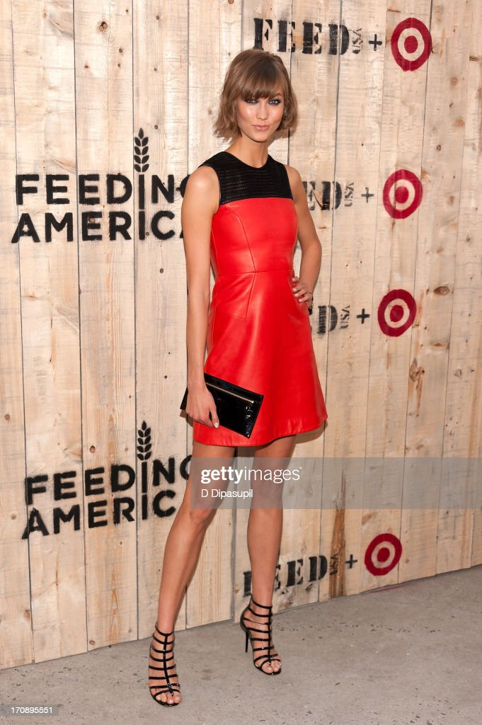 Karlie Kloss attends the Target FEED Collaboration launch at Brooklyn Bridge Park on June 19, 2013 in New York City.