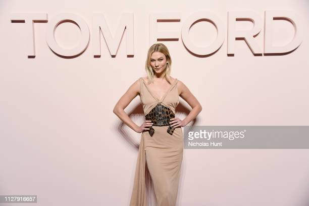 Karlie Kloss attends the Tom Ford FW 2019 Arrivals New York Fashion Week The Shows on February 06 2019 in New York City