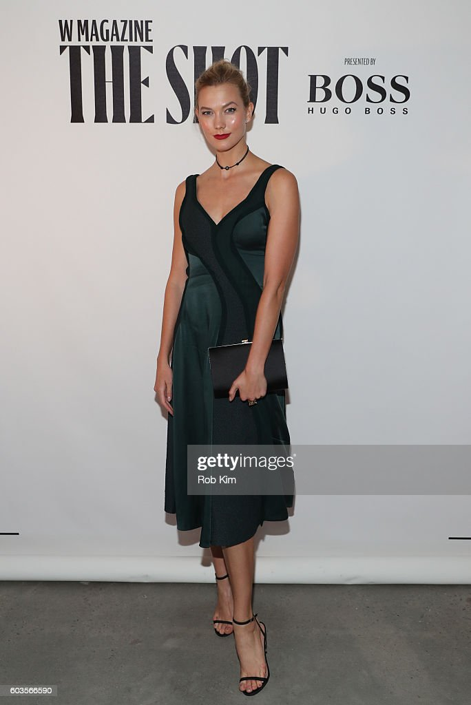 "W Magazine And Hugo Boss Celebrate ""The Shot"" : Foto jornalística"