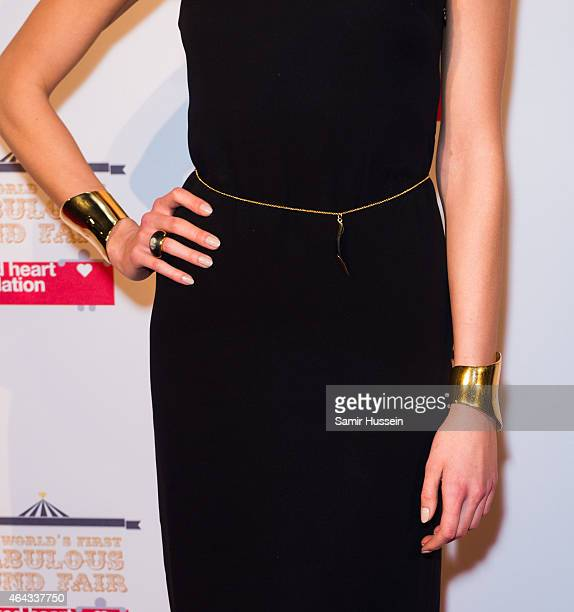 Karlie Kloss attends The World's First Fabulous Fund Fair in aid of The Naked Heart Foundation at The Roundhouse on February 24 2015 in London England