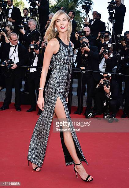 Karlie Kloss attends the Youth Premiere during the 68th annual Cannes Film Festival on May 20 2015 in Cannes France