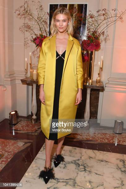Karlie Kloss attends the YouTube cocktail party during Paris Fashion Week on September 26 2018 in Paris France
