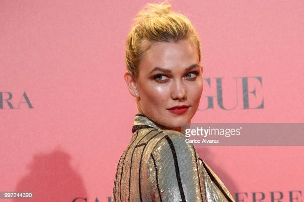 Karlie Kloss attends Vogue 30th Anniversary Party at Casa Velazquez on July 12 2018 in Madrid Spain