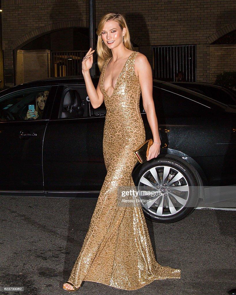 Celebrity Sightings in New York City - November 16, 2016