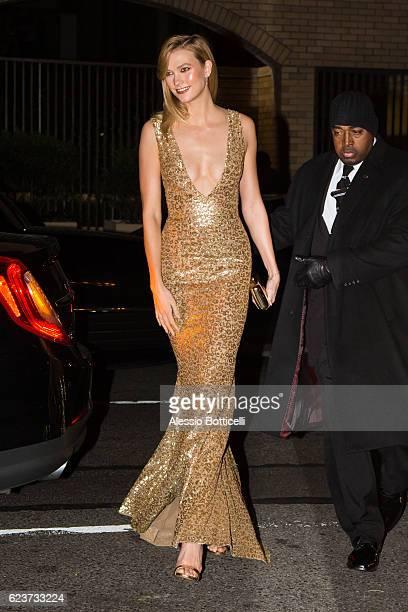 Karlie Kloss is seen in Midtown Manhattan on November 16 2016 in New York City
