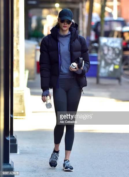 Karlie Kloss is seen in Soho on March 26 2018 in New York City
