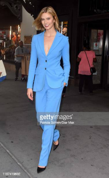 Karlie Kloss is seen on July 23 2019 in New York City