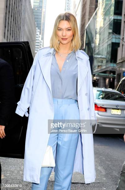 Karlie Kloss is seen on March 06, 2020 in New York City.