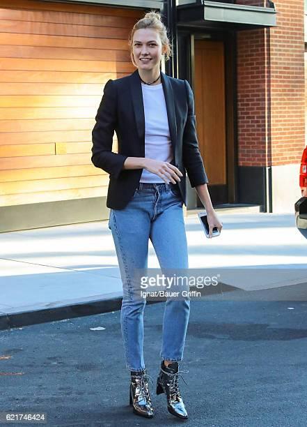 Karlie Kloss is seen on November 07 2016 in New York City