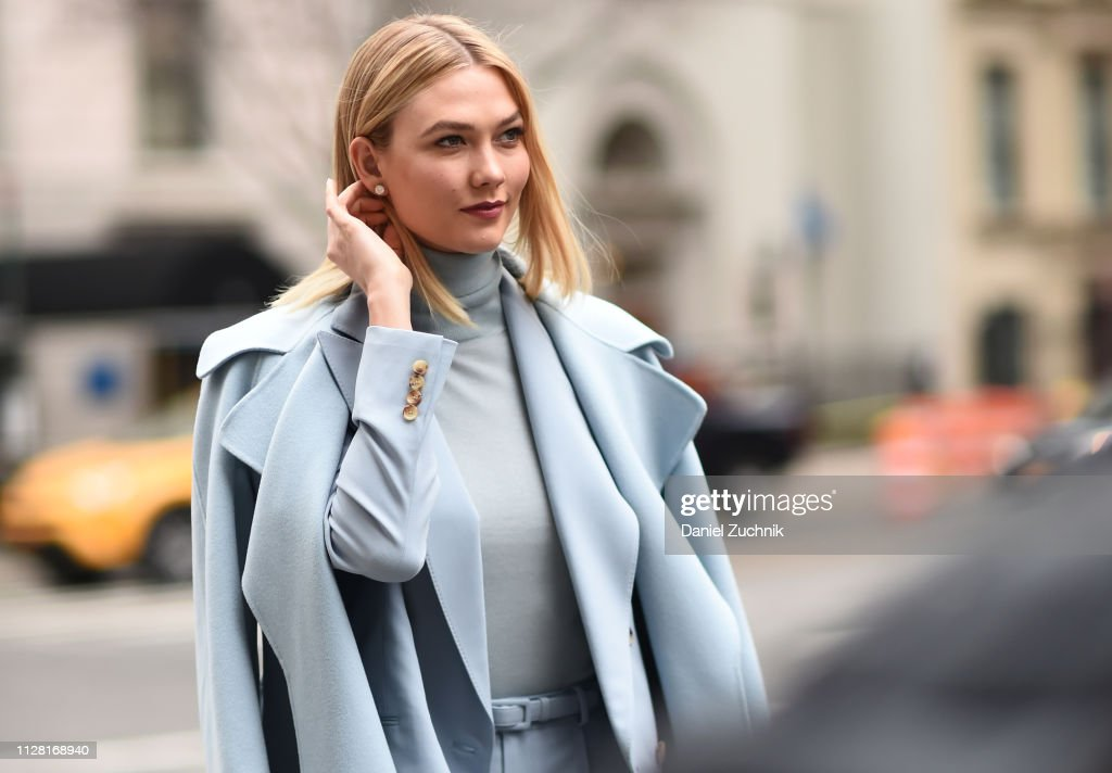 Street Style - New York Fashion Week February 2019 - Day 1 : Photo d'actualité