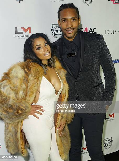 Karlie Redd and Clay West attend the 9th annual Celebration 4 A Cause at King Plow Arts Center on December 22 2016 in Atlanta Georgia