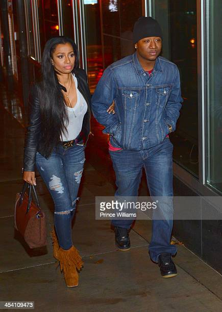 Karlie Redd and Yung Joc are Spotted on Peachtree st on December 2, 2013 in Atlanta, Georgia.