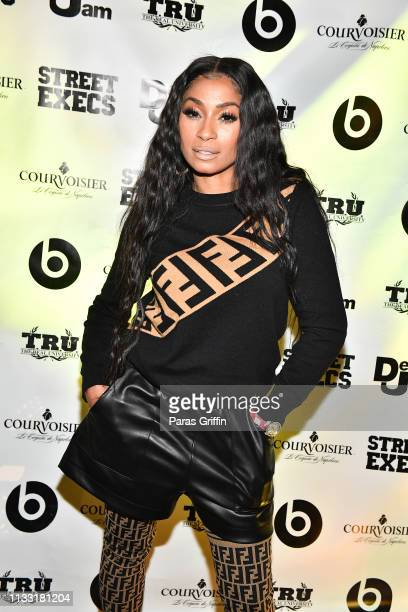 Karlie Redd attends 2 Chainz Rap Or Go To The League Album Release Party at Republic on March 01 2019 in Atlanta Georgia