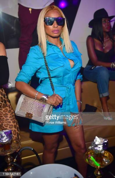 Karlie Redd attends Nelly Friends Concert after Party at Gold Room on July 25 2019 in Atlanta Georgia
