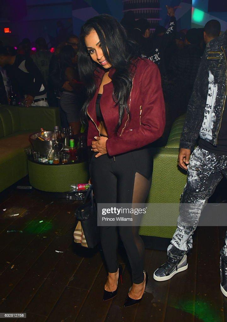 Karlie Redd attends Rick Ross Birthday Bash at XS Lounge on January 23, 2017 in Atlanta, Georgia.