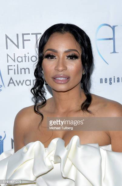 Karlie Redd attends the 2nd annual National Film and TV Awards at Globe Theatre on December 03, 2019 in Los Angeles, California.