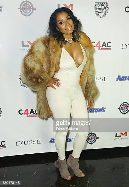 Karlie Redd attends the 9th annual Celebration 4 a Cause at King Plow Arts Center on December 22 2016 in Atlanta Georgia