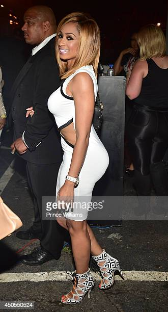 Karlie Redd attends the Love Hip Hop Takeover at Reign Nightclub on June 12 2014 in Atlanta Georgia