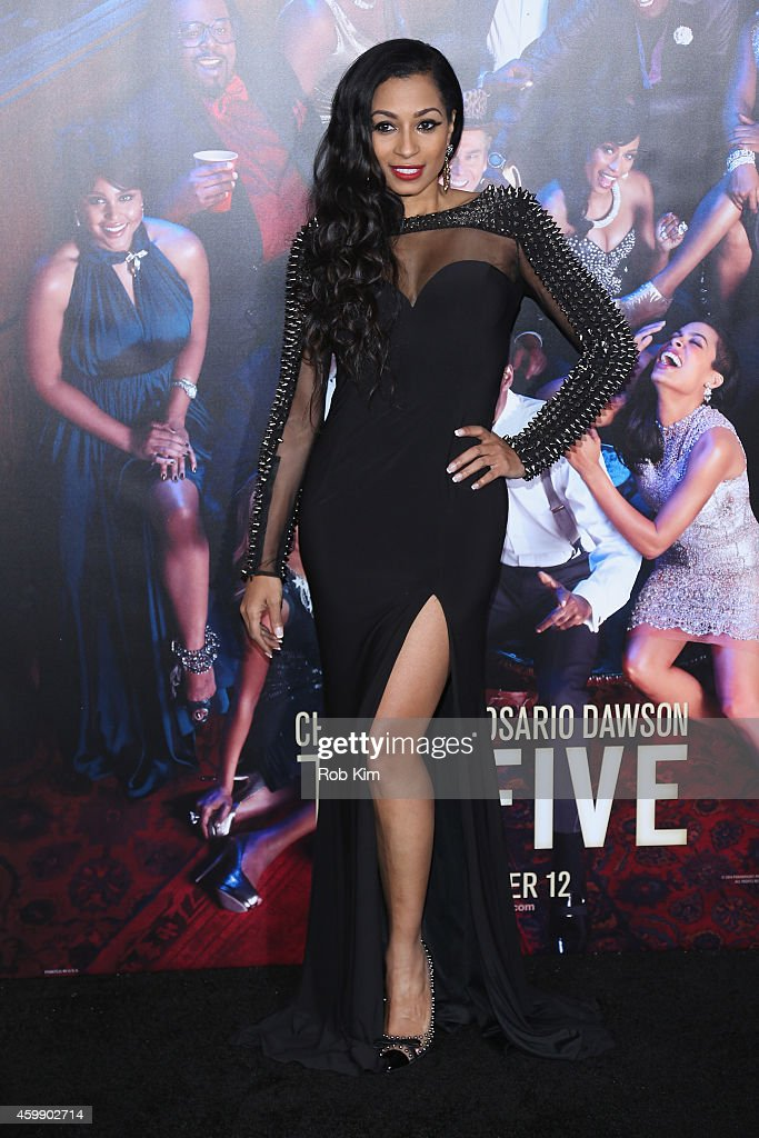 Karlie Redd attends the 'Top Five' New York Premiere at Ziegfeld Theater on December 3, 2014 in New York City.