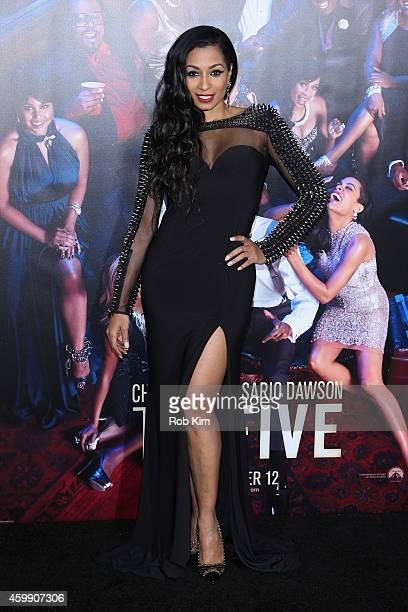 """Karlie Redd attends the """"Top Five"""" New York Premiere at Ziegfeld Theater on December 3, 2014 in New York City."""