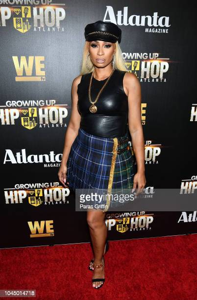 Karlie Redd attends 'WE tv Celebrates The Return Of Growing Up Hip Hop Atlanta' at Club Tongue Groove on October 2 2018 in Atlanta Georgia