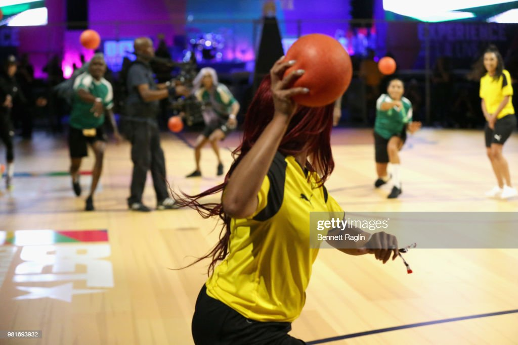 2018 BET Experience - Celebrity Dodgeball Game : News Photo
