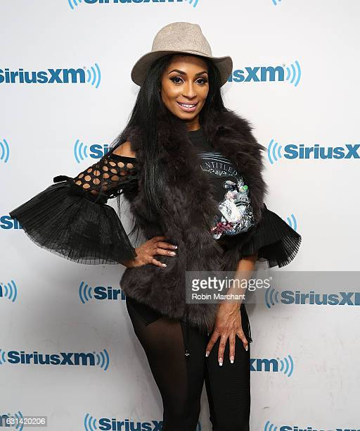 Karlie Redd visits at SiriusXM Studios on January 10 2017 in New York City
