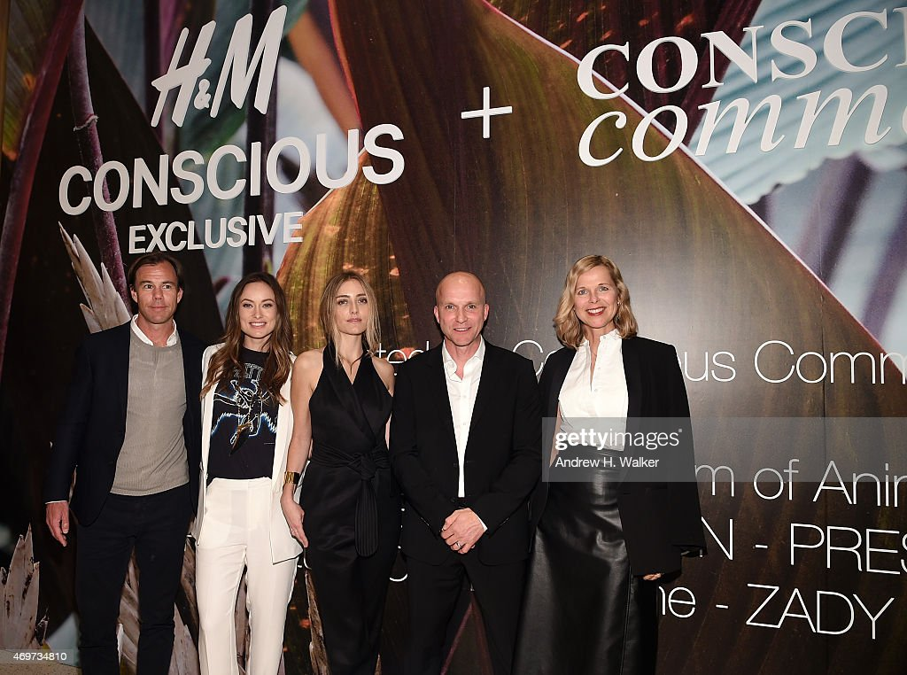 H&M, Olivia Wilde, And Conscious Commerce Celebrate The Opening Of The Conscious Pop-Up Shop : News Photo