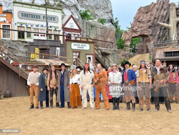KarlMaySpiele Bad Segeberg zeigen erste Szenen aus _Der Schatz im Silbersee_ WieczoreknbspIngenieur Pattersonnbsp/nbspMajor NortonDirc...