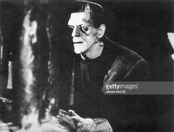 Karloff Boris Actor Great Britain *23111887 Scene from the movie 'Frankenstein' Directed by James Whale USA 1931 Film Production Universal Pictures...