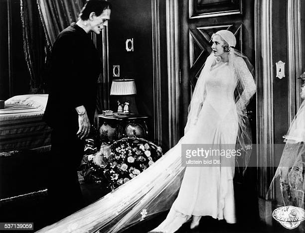 Karloff, Boris - Actor, Great Britain - Scene from the movie 'Frankenstein' Directed by: James Whale USA 1931 Produced by: Universal Pictures