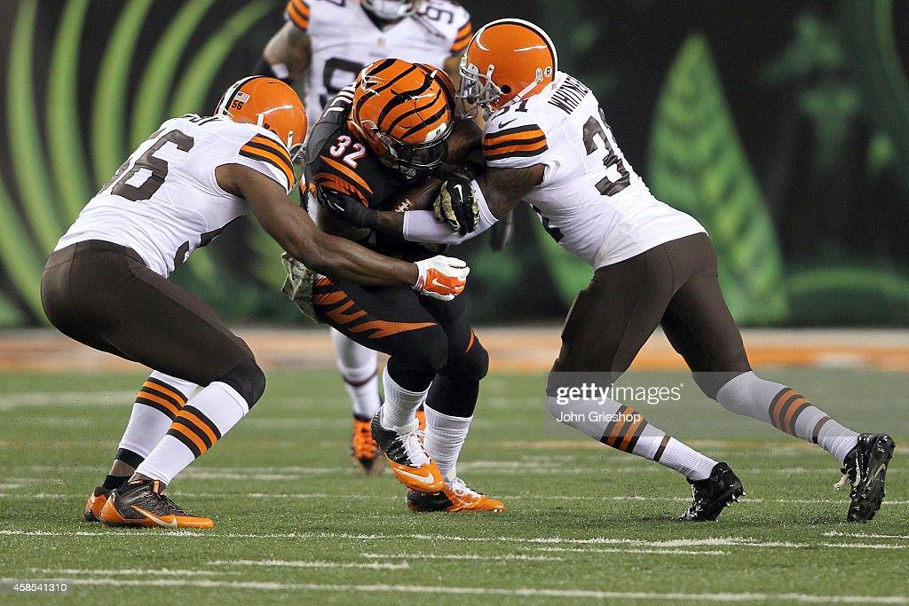 Cleveland Browns v Cincinnati Bengals : Fotografia de notícias