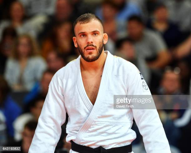 KarlRichard Frey of Germany defeated Clement Delvert of France then lost the u100kg quarterfinal contest and finishing seventh during the 2017 Paris...