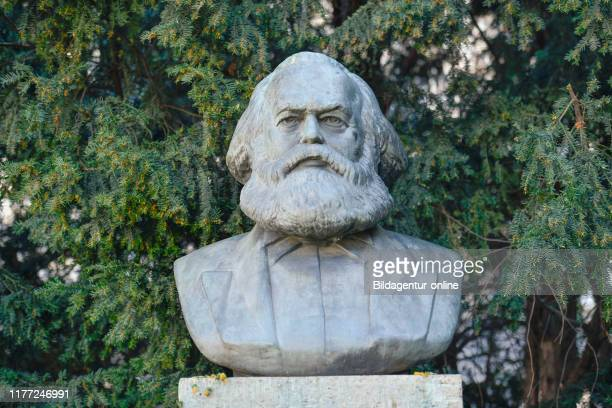 Karl's Marx monument Strausberger place Friedrich's grove Berlin Germany KarlMarxDenkmal Strausberger Platz Friedrichshain Germany