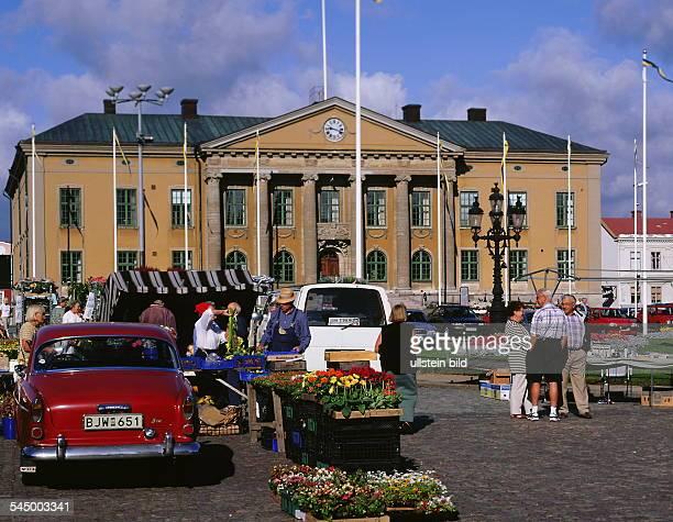 Karlskrona - Marktplatz - 1999