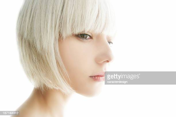 karma dreams - white hair stock pictures, royalty-free photos & images