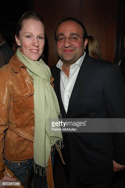 Karma McDermott and Steven Kamali attend Jason Strauss Birthday at Marquee NYC on April 10 2008 in New York City