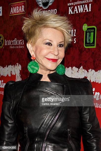 Karmele Marchante attends Miguel de Molina al Desnudo premiere at the Santa Isabel Theater on November 4 2014 in Madrid Spain