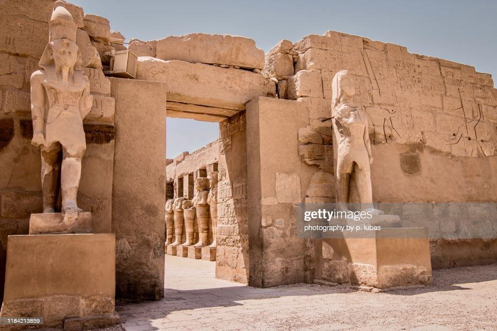 Karnak: Temple of Amun – Luxor, Egypt : Stock Photo
