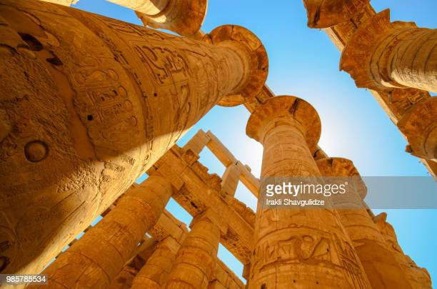 karnar, egypt - hieroglyphics stock pictures, royalty-free photos & images