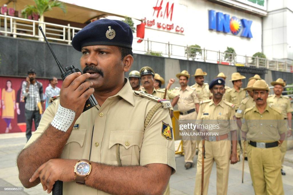 INDIA-CINEMA-POLITICS-KARNATAKA : News Photo