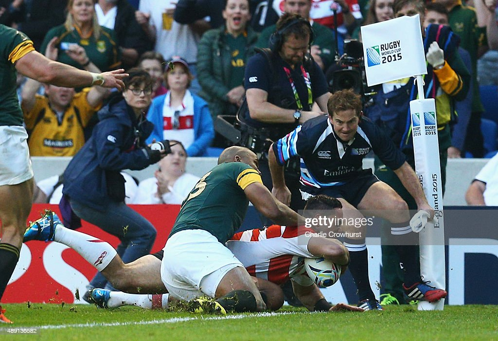 South Africa v Japan - Group B: Rugby World Cup 2015 : News Photo